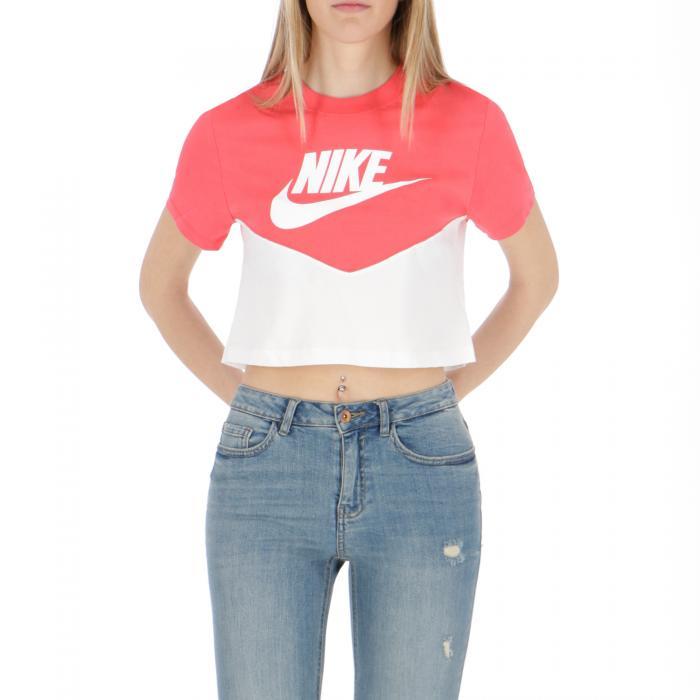 nike t-shirt e canotte white/white