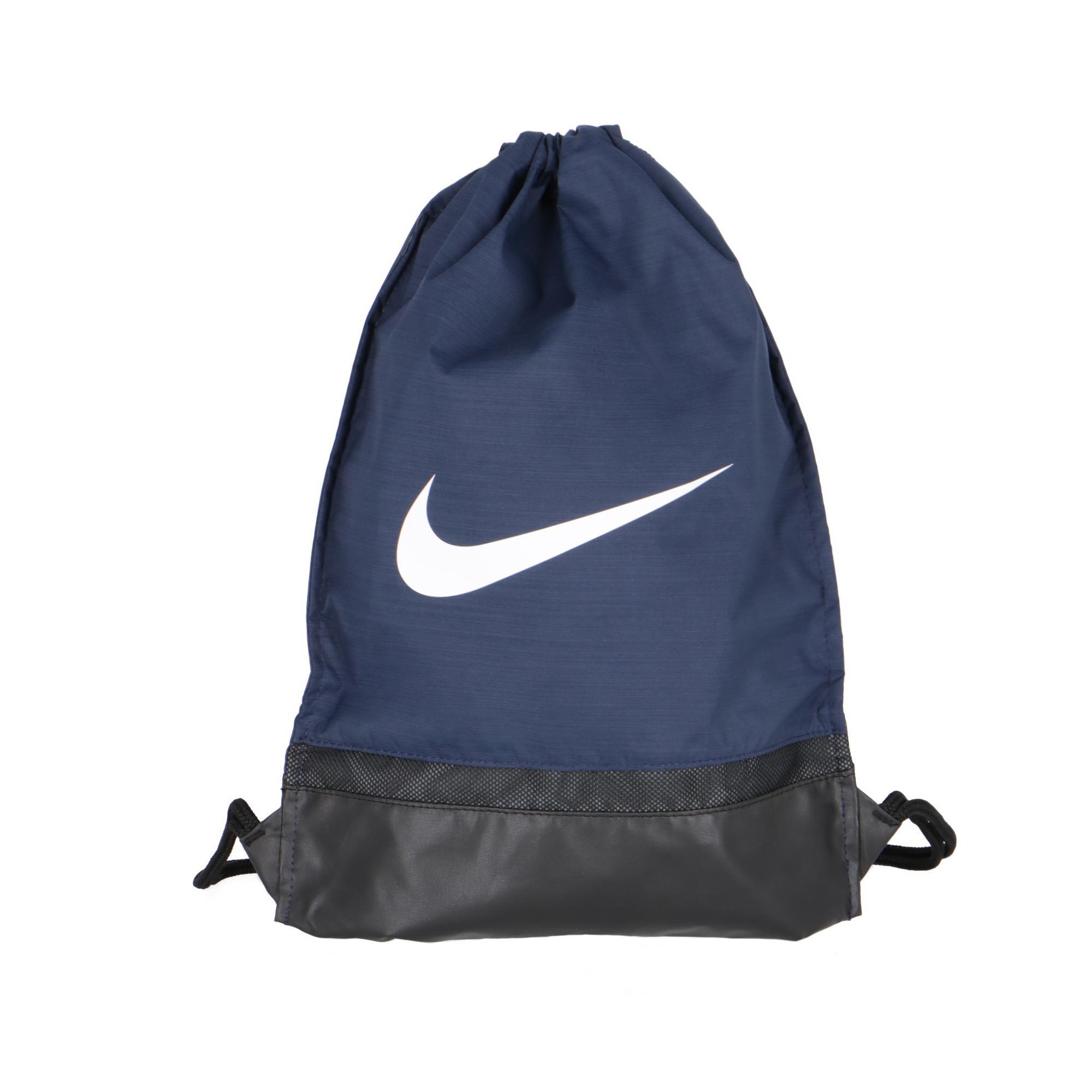 f464c09616 Nike Brasilia Gym Sack Midnight Navy white