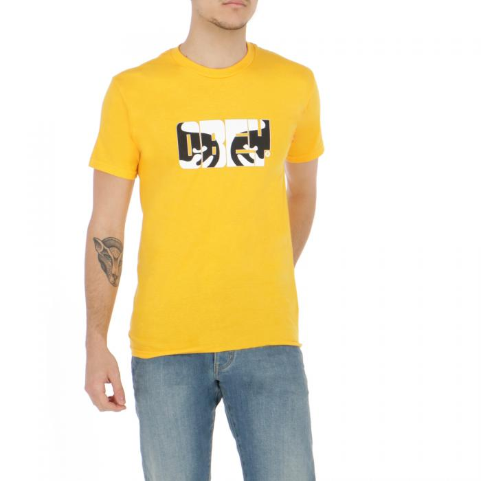 obey t-shirt e canotte gold