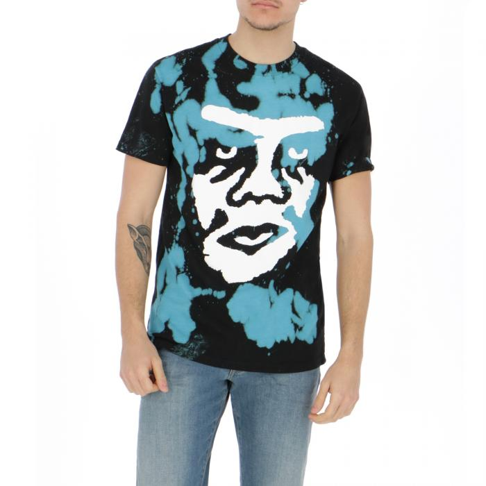 obey t-shirt e canotte black blue