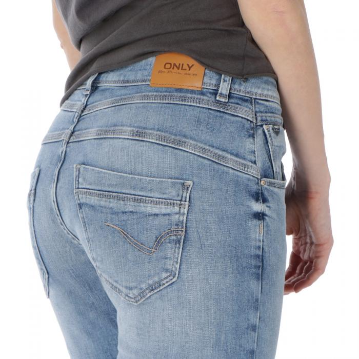 only pantaloni light blue denim