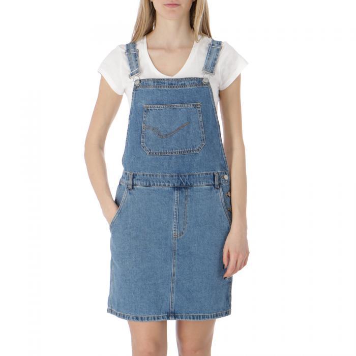 only abiti e gonne medium blue denim