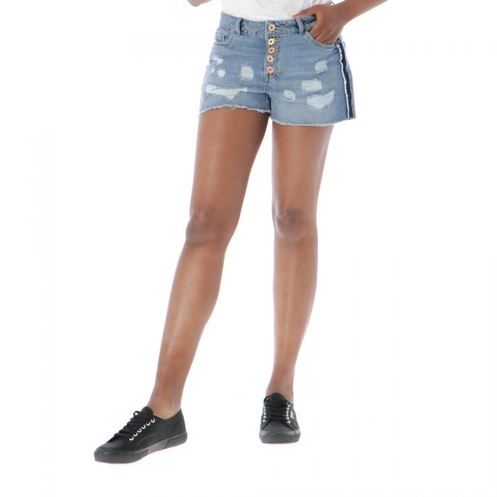only shorts medium blue denim