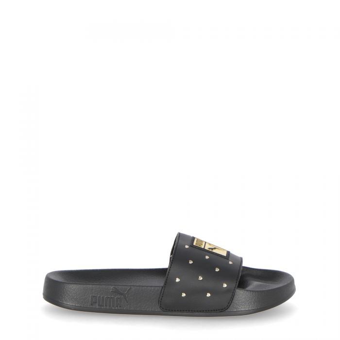puma sandali e ciabatte black