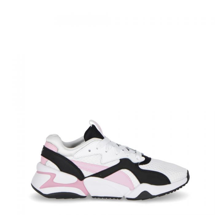 puma scarpe lifestyle white pale pink