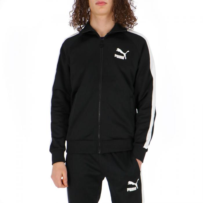puma felpa zip black