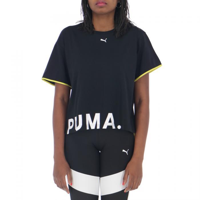 puma t-shirt e canotte black