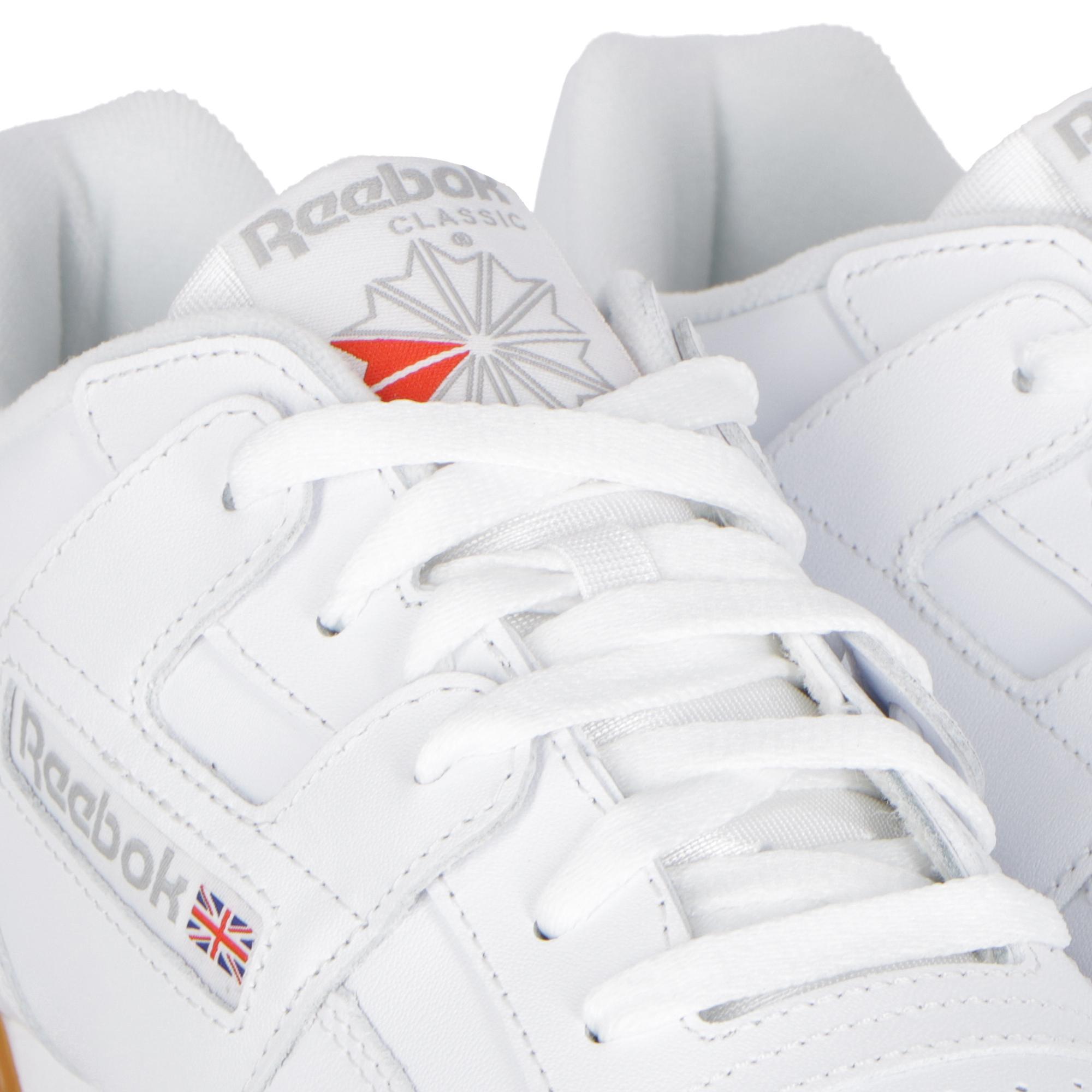 Reebok Workout Plus WHITE