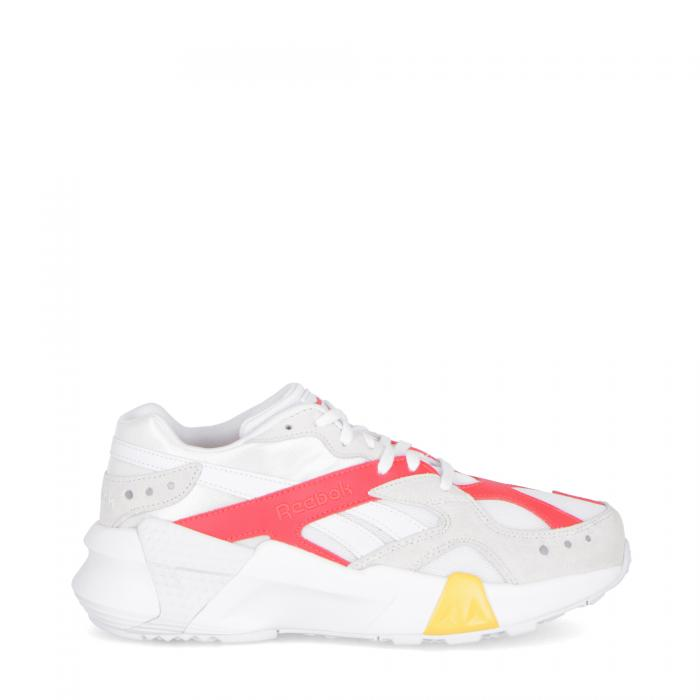 reebok scarpe lifestyle dd gigi-wht/true grey/neon red