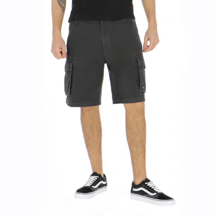 rvca shorts pirate black