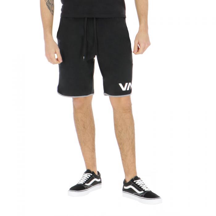 rvca shorts black
