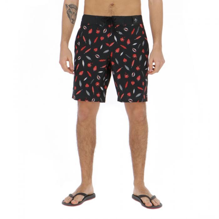 rvca beachwear black