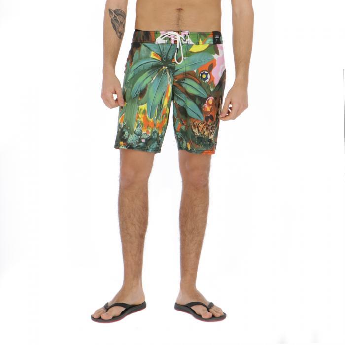 rvca beachwear tropical