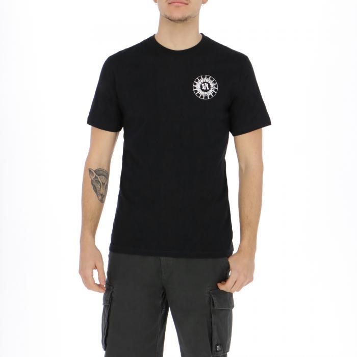 rvca t-shirt e canotte black