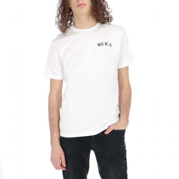 rvca t-shirt e canotte white