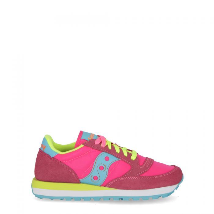 saucony scarpe lifestyle pink yellow