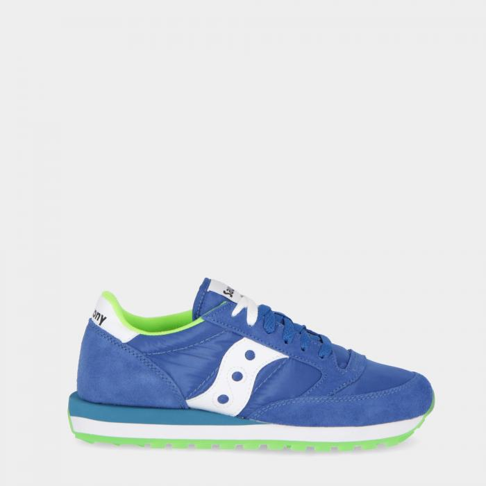 saucony scarpe lifestyle blue lime
