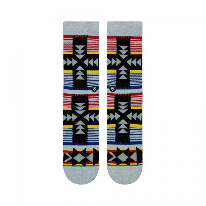 stance calze heather grey