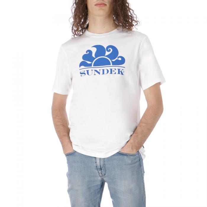 sundek t-shirt e canotte white