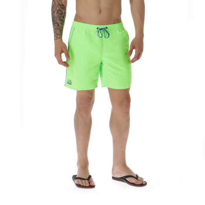 sundek beachwear fluo green