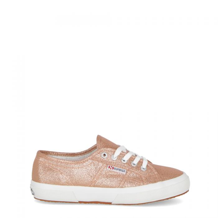 superga basse rose gold