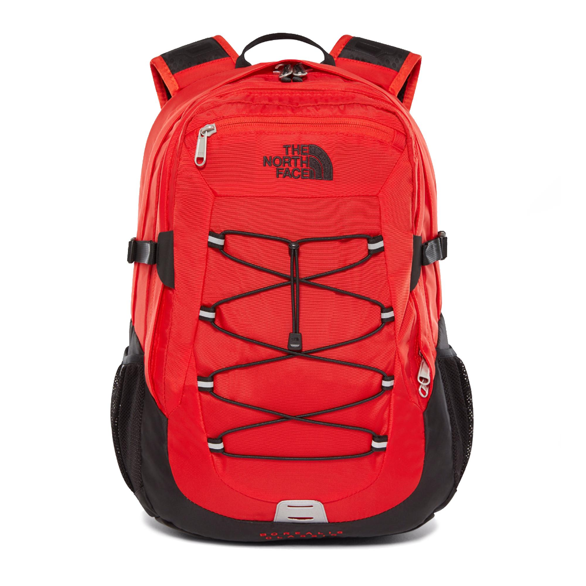 The North Face Borealis Classic Fiery Red Black  defdd690d