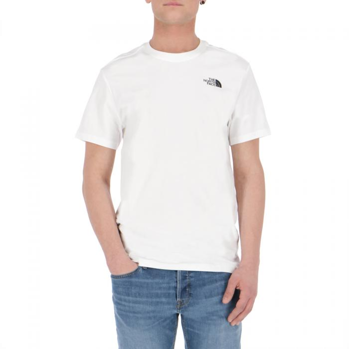 the north face t-shirt e canotte white