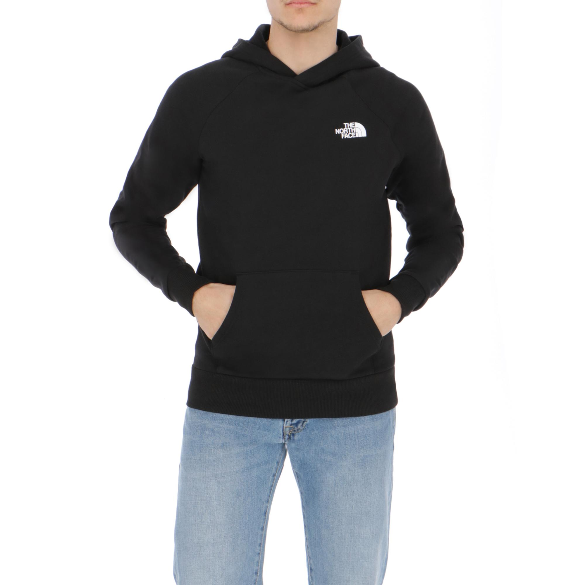 The North Face Mens Raglan Red Box Black  f828b533f3e1