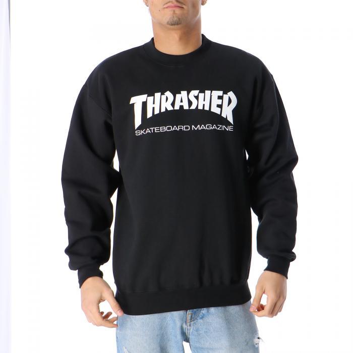 thrasher felpe black