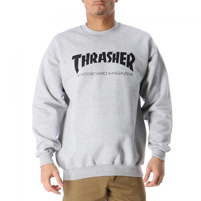 thrasher felpe gray