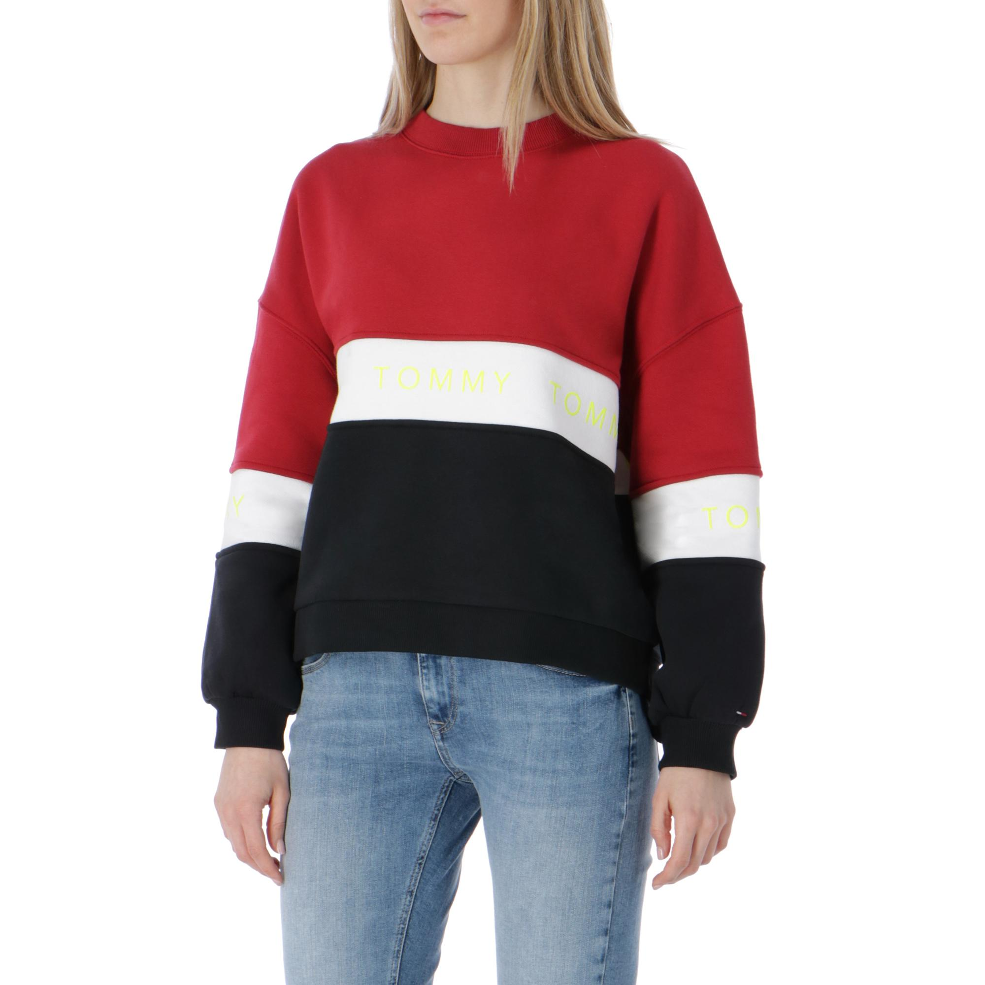 Tommy Jeans Colorblock Sweatshirt Tommy black