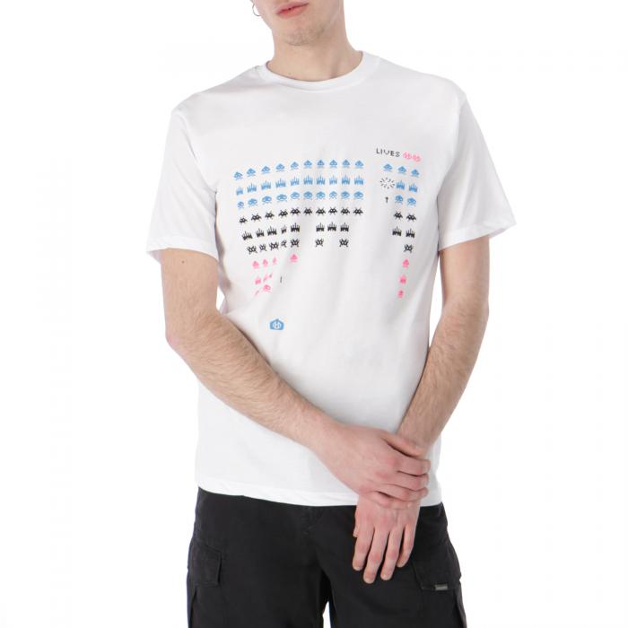 upstream t-shirt e canotte white