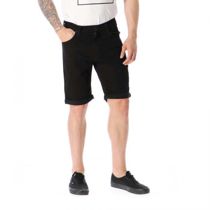 vans shorts overdye black