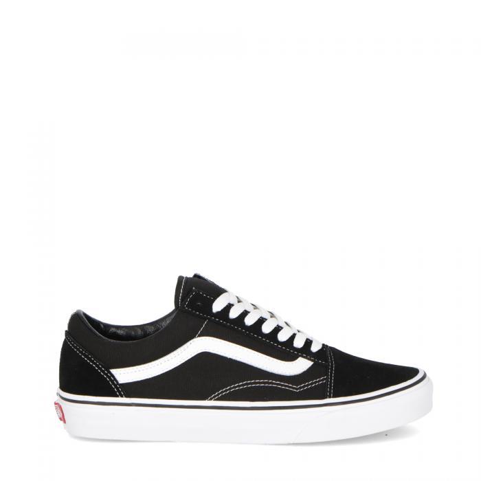 vans basse black/white