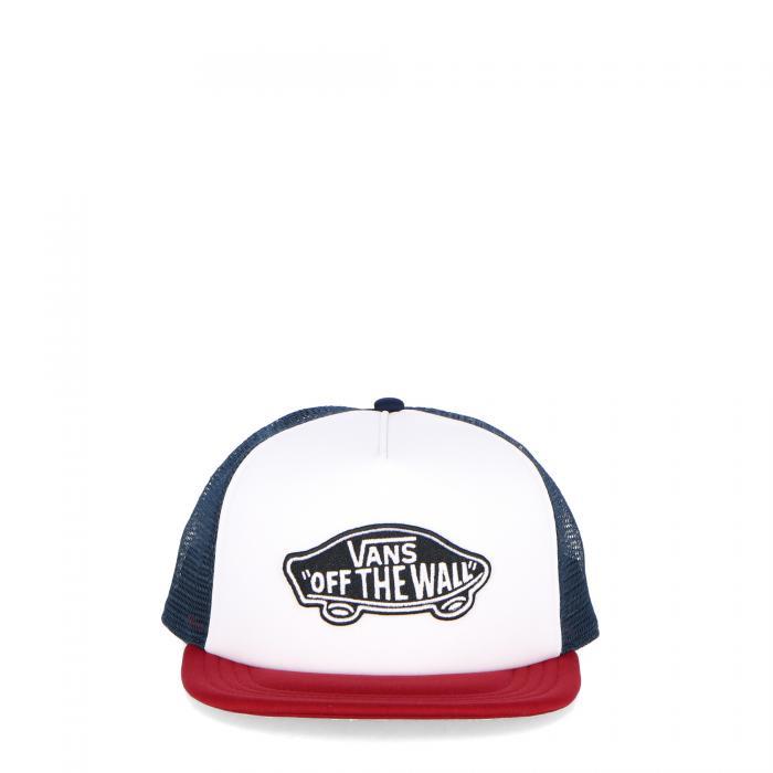 vans cappelli white rhumba red