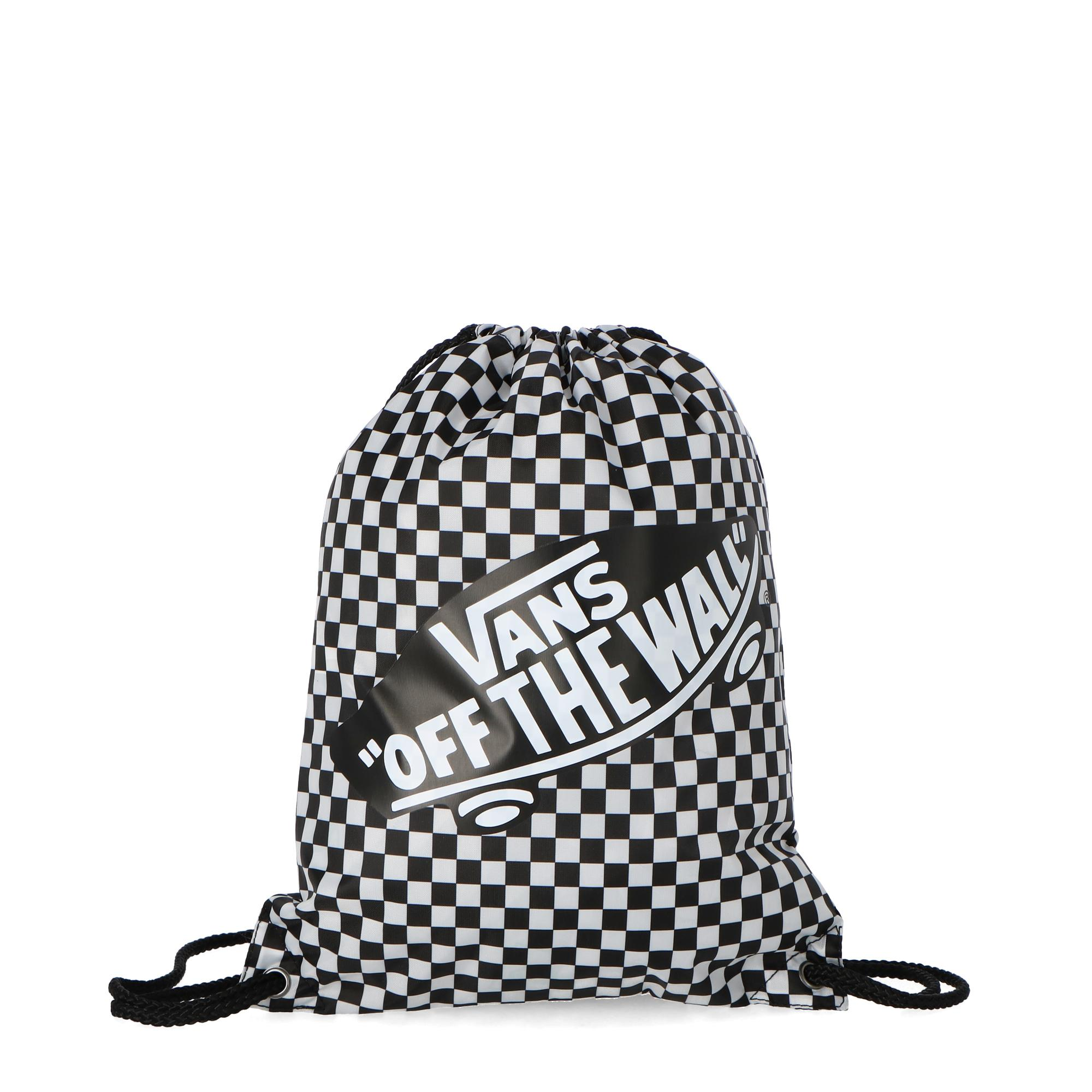 13f7051098 Vans Benched Bag Black white Checkerboard