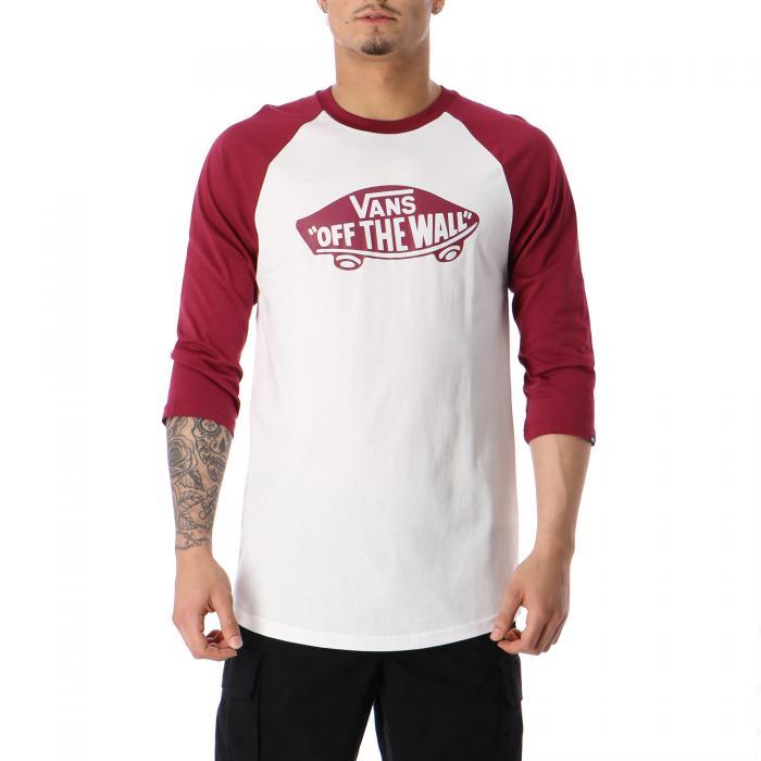 vans t-shirt e canotte white rumba red