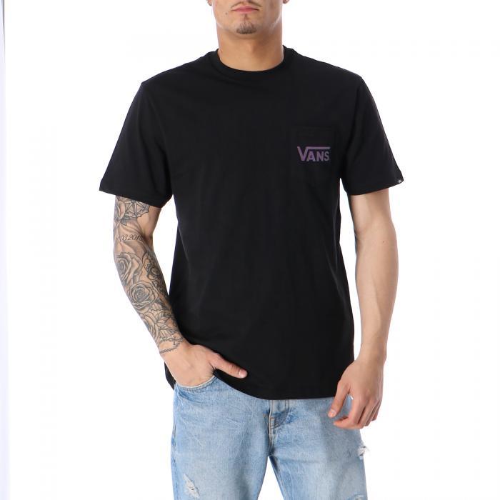 vans t-shirt e canotte black black plum