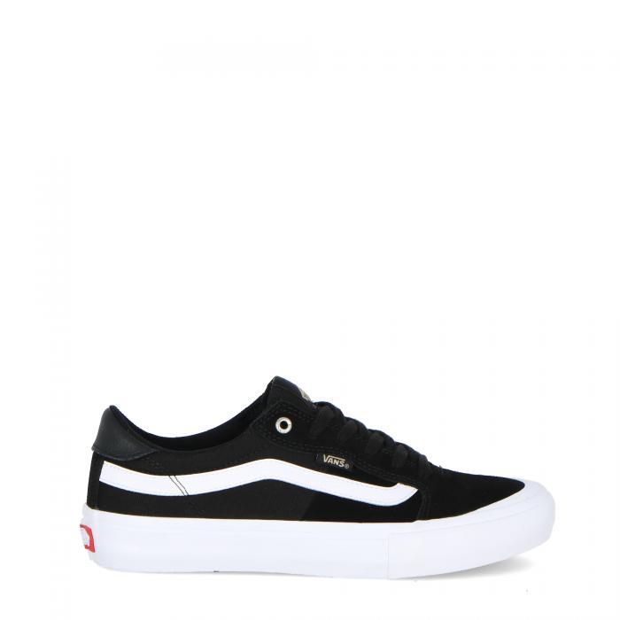 vans scarpe skate black/white/khaki