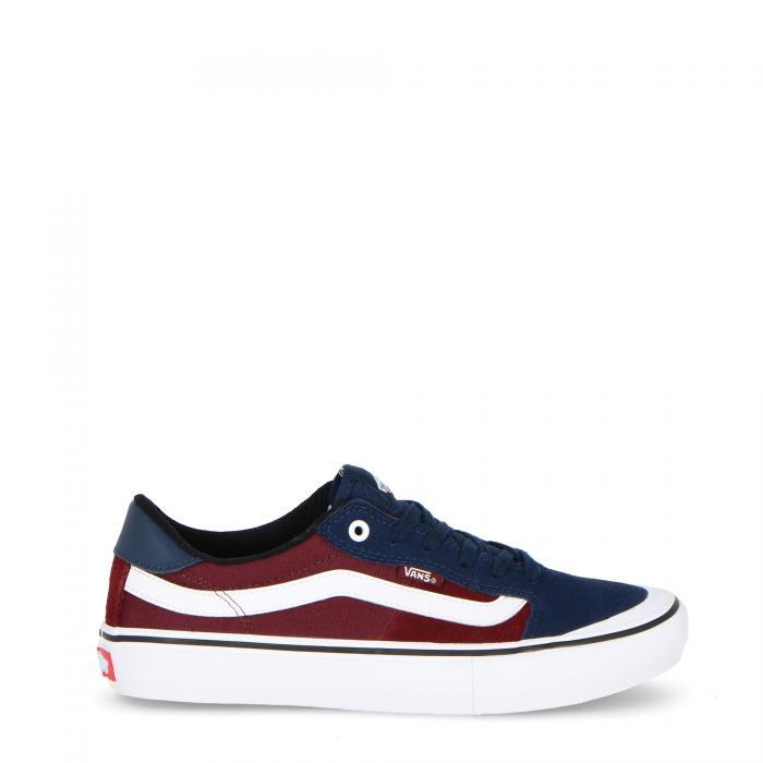 vans scarpe skate dress blue/port royale