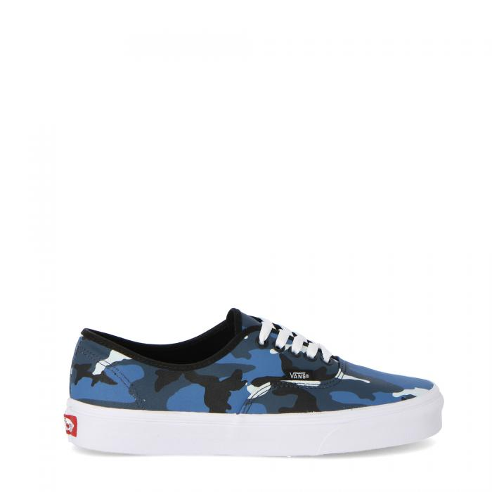 vans scarpe skate pop camo black dress blue