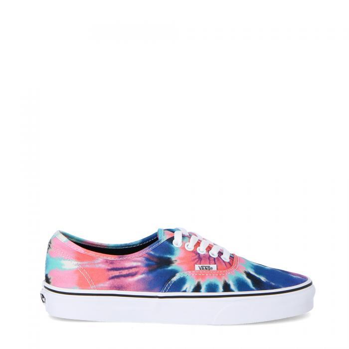 vans scarpe skate tie dye multi true white