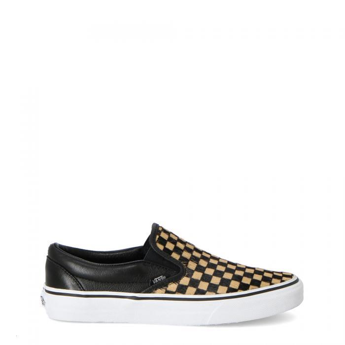 vans scarpe skate calf hair checkerboard