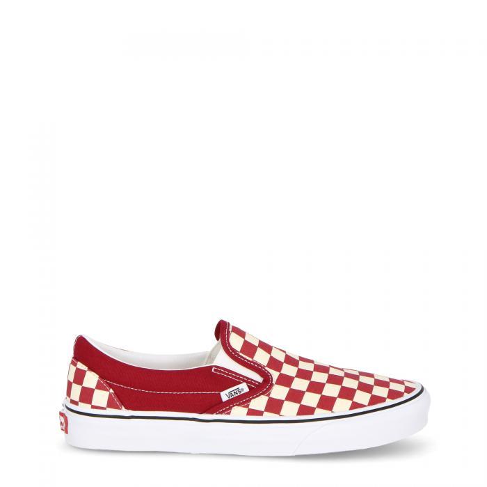 vans scarpe skate (checkerboard) rumba red