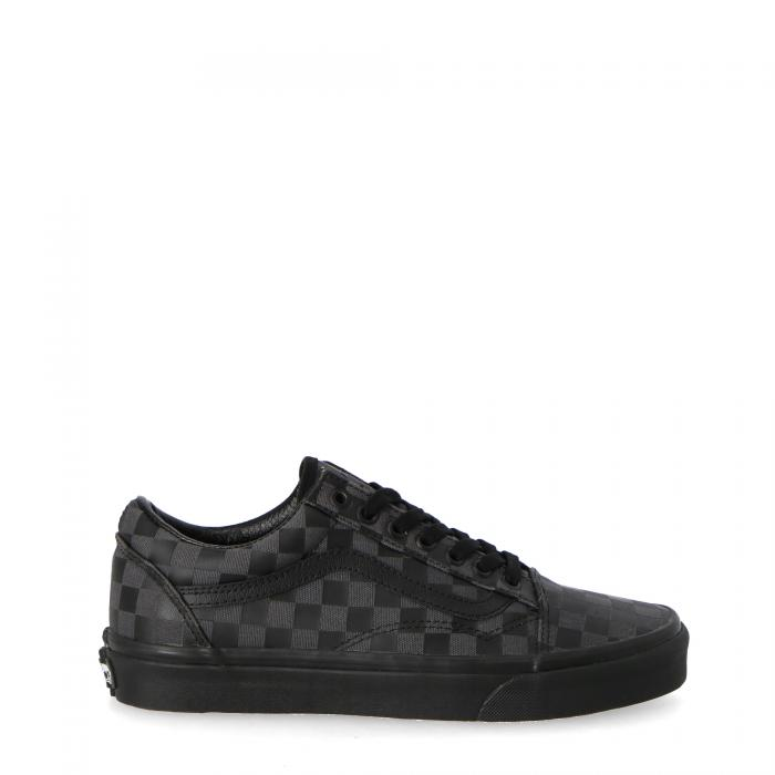 vans scarpe skate high density black check
