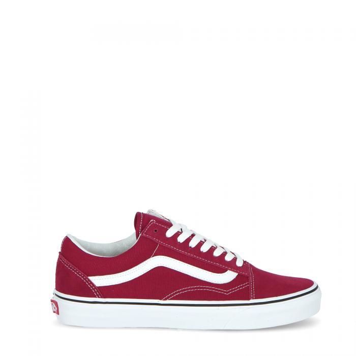 vans scarpe skate rumba red/true white
