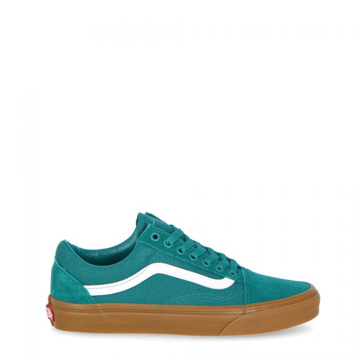 vans scarpe skate quetzal green/gum
