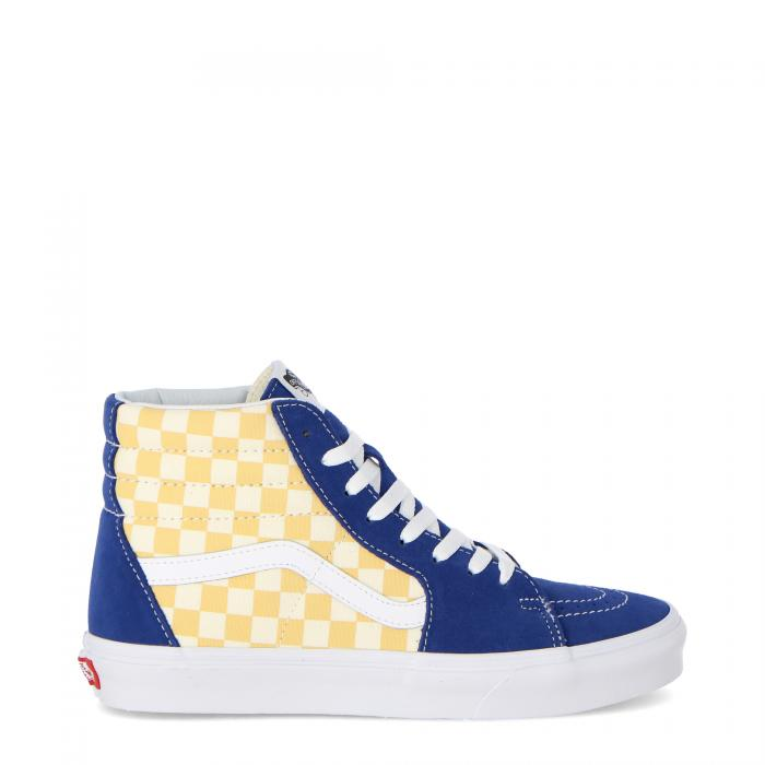 vans scarpe skate bmx check true blue yellow