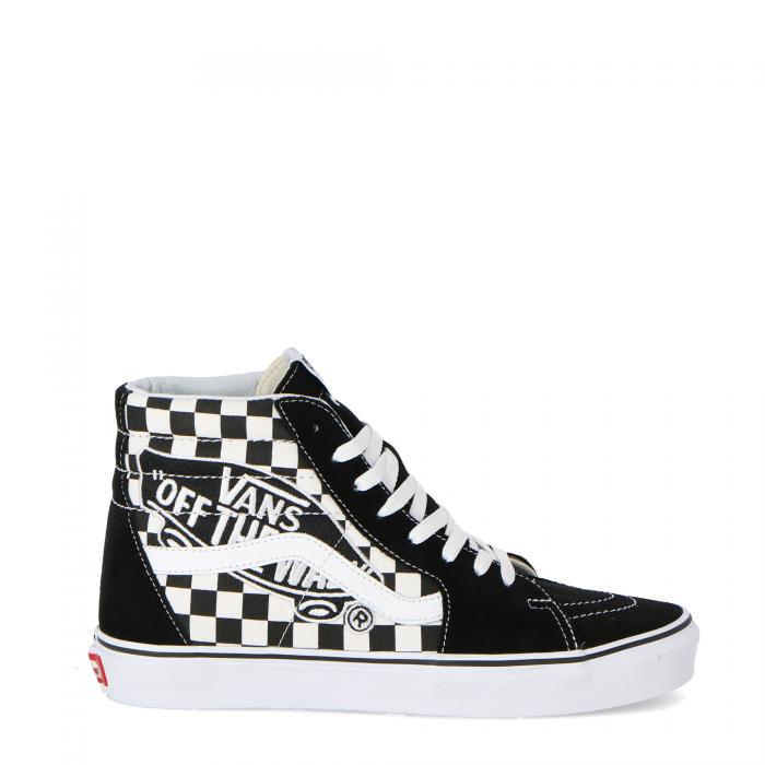 vans scarpe skate patch black true white