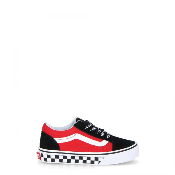 vans scarpe skate (logo pop) black/true white